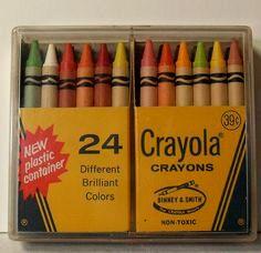 crayola crayons 1980s