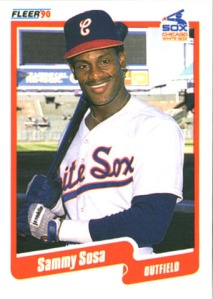 sammy sosa card